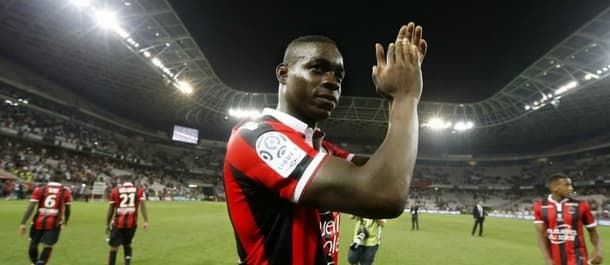 Mario Balotelli has helped Nice to the top of Ligue 1.