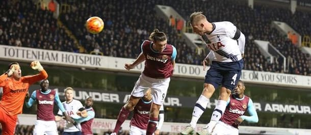 Spurs beat West Ham 4-1 at White Hart Lane last season.