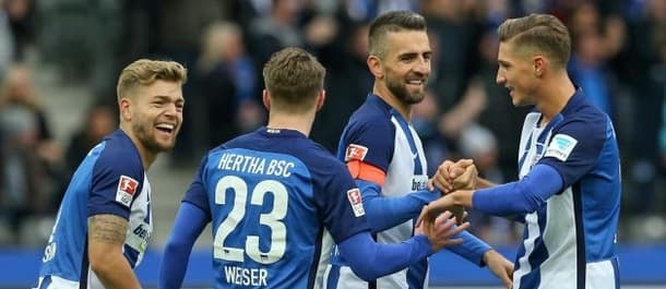 Hertha Berlin are 5th in the Bundesliga.