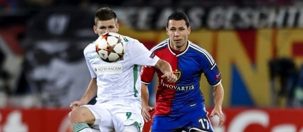 Ludogorets drew 1-1 at Basel in September's Champions League clash.
