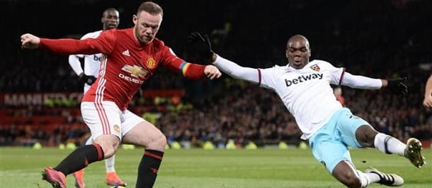 West Ham held Manchester United to a draw at Old Trafford on Sunday.