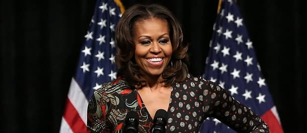 Michelle Obama would be guaranteed support if she ran for president.