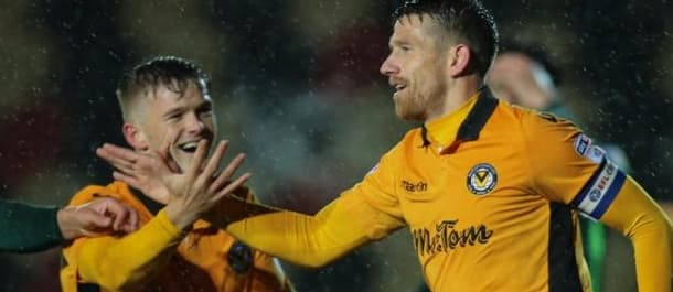 Newport's form has improved since Graham Westley took charge.