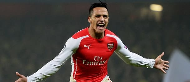 Alexi Sanchez has six goals in ten Premier League games for Arsenal.