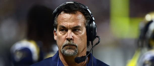 Fisher was fired by the Rams following their defeat to the Falcons
