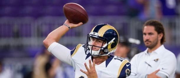 Goff has struggled in limited action
