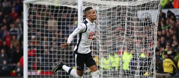 Tom Ince found the net in Derby's 3-0 win at Forest.
