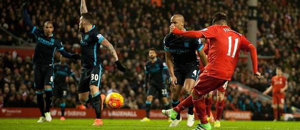 Liverpool beat Manchester City 3-0 at Anfield in March.