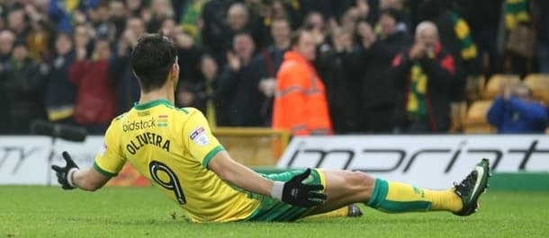 Nelson Oliveira has scored in his last three games for Norwich.