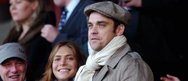Robbie Williams is a Port Vale celebrity fan.