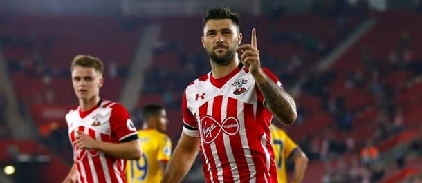 Southampton beat Crystal Palace in the EFL Cup in September.
