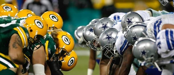 The Cowboys and Packers will lock horns on Sunday