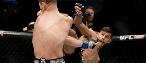 Yair Rodriguez High Kick