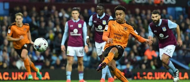 Aston Villa and Wolves drew 1-1 at Villa Park in October.