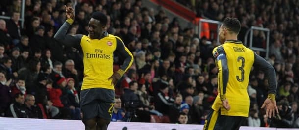 Danny Welbeck scored twice on his Arsenal return at Southampton.