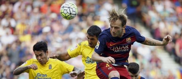 Barcelona beat Las Palmas 2-1 in both meetings last season.