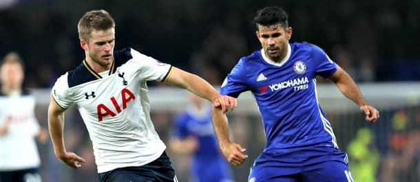 Chelsea beat Spurs 2-1 at Stamford Bridge in November.