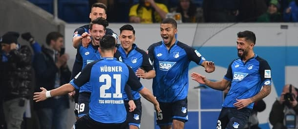 Hoffenheim are unbeaten in this season's Bundesliga.