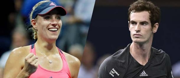 Kerber and Murray ended 2016 as Tennis' highest ranked players.