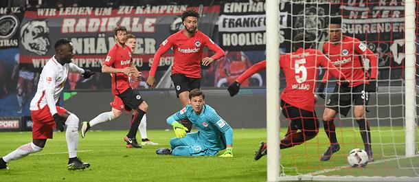 Leipzig beat Frankfurt 3-0 last weekend in the Bundesliga.