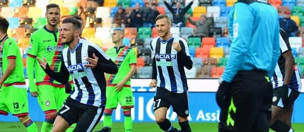 Udinese are unbeaten in the last four at home.