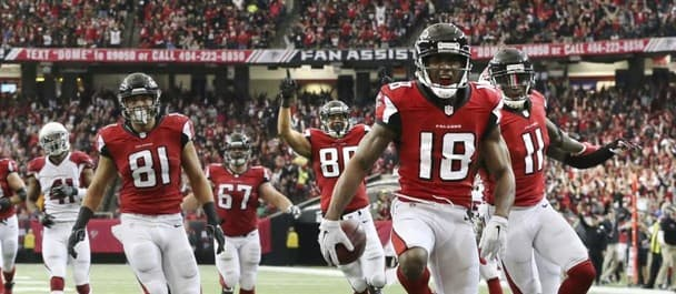 Will the Falcons' receivers edge their battle