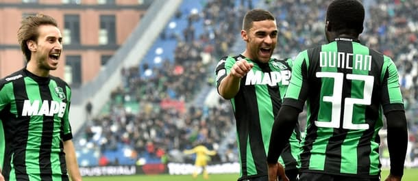 Sassuolo's 11 away matches in Serie A have yielded 41 goals.