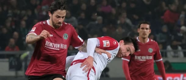 Hannover climbed to the top of the Bundesliga 2 table this week.