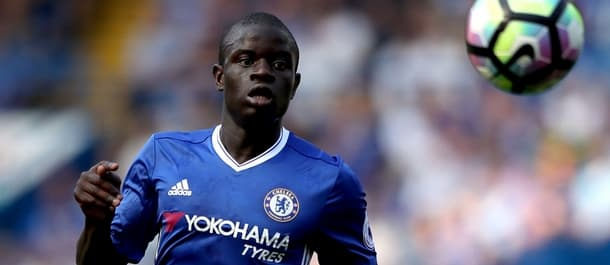 N'Golo Kante could win the Premier League with two different clubs in two seasons.