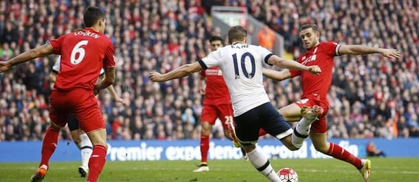 Spurs and Liverpool drew 1-1 at White Hart Lane in August.