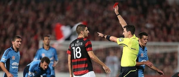 The Sydney derby is a hard-fought affair.