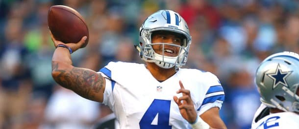 Prescott took the reins from Romo