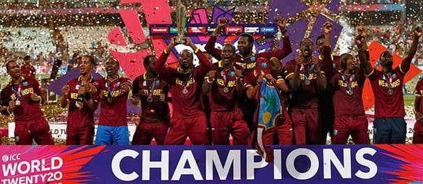 The West Indies beat England in the WT20 final