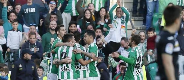 Real Betis face La Liga no-hopers Osasuna this weekend.