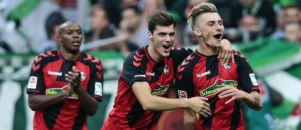 Freiburg beat Bremen 3-1 earlier in the Bundesliga season.