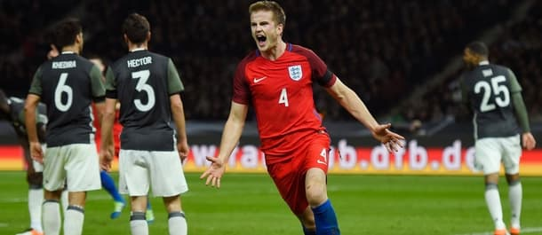 Eric Dier's late goal gave England a 3-2 victory on their last visit to Germany.