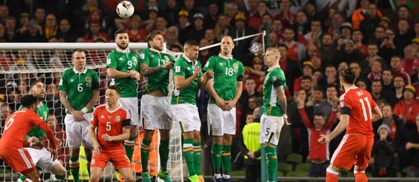 Ireland were held to a 0-0 draw by Wales in World Cup qualifying.