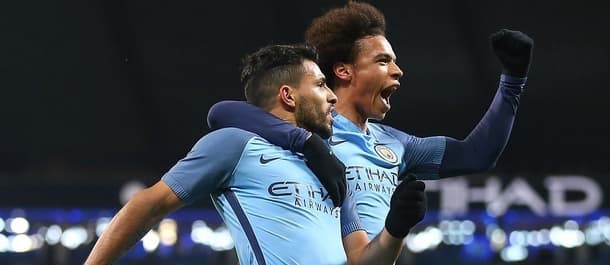 Manchester City thumped Huddersfield 5-1 in the FA Cup.