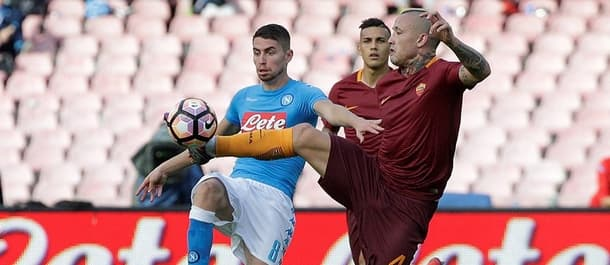 Roma beat Napoli 3-1 earlier this season.