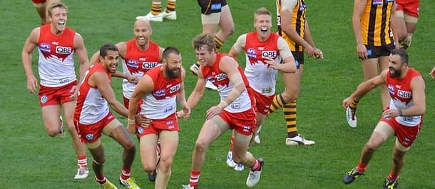 Sydney Swans are good value to finish higher than Adelaide in the AFL.