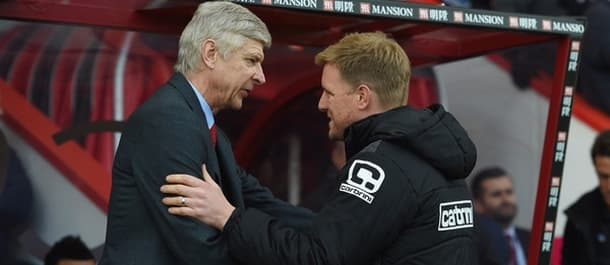 Eddie Howe has been touted as a potential replacement for Arsene Wenger.