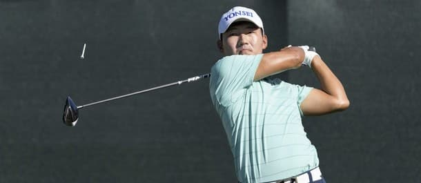 Sung tied the course record on day two