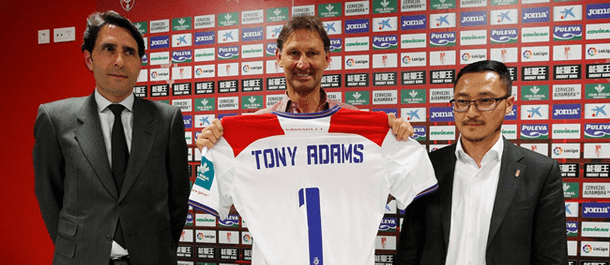 Tony Adams was a surprise appointment at Granada.