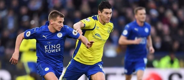 Everton recorded a 2-0 win at Leicester in December's Premier League match.