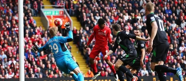 Liverpool beat Stoke 4-1 earlier in the season.