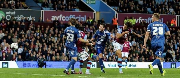 Aston Villa beat Birmingham 1-0 last week.
