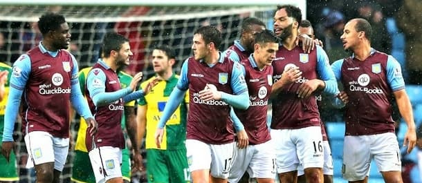 Villa's win against Norwich keeps slim play off hopes alive.