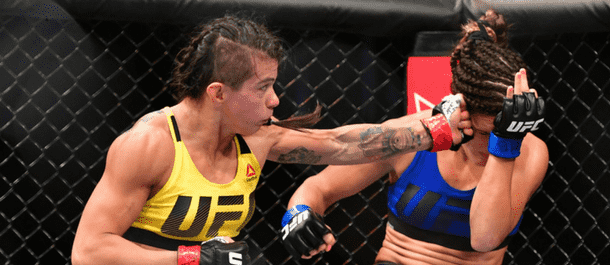 Claudia Gadelha defeats Cortney Casey
