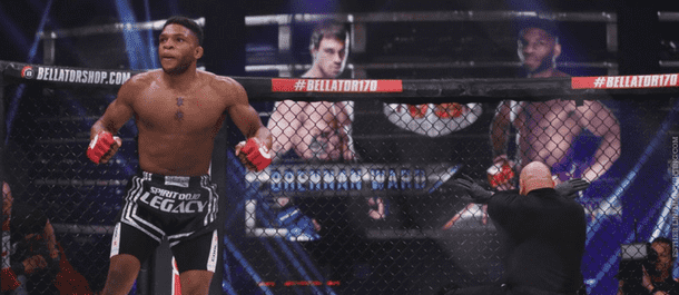 Paul Daley at Bellator 170