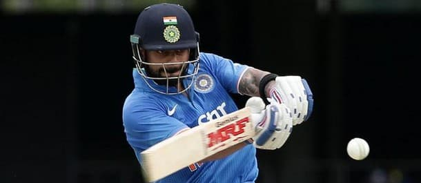 The pressure will be on Kohli